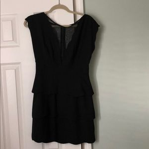 Urban Outfitters black scalloped dress